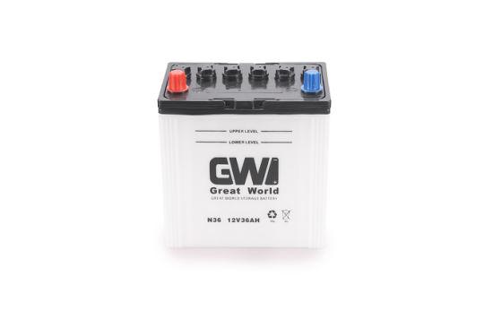 Marque gw 12 volts batterie automatique 36ah sec (36B20)