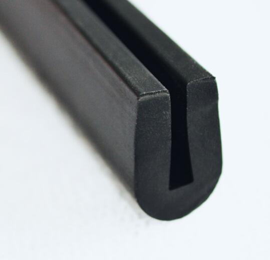 Strook Van De Verbinding Van De Bescherming Van De Rand Van Het Metaal Van Het Blad De Rubber