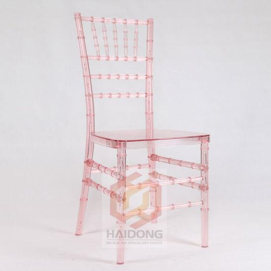 China China Metacrilato populares boda colorida silla