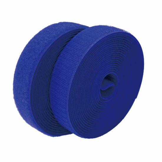 colour: azul para coser 20 mm de ancho ganchos cinta americana /& 25 M de velcro