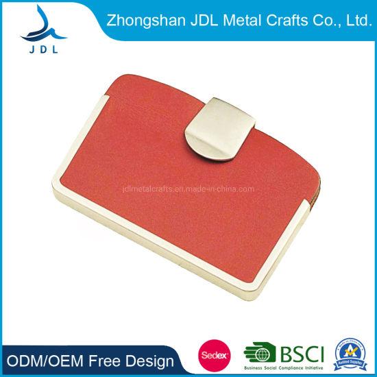 Cuir porte-carte carte de crédit Titulaire Business Card Case