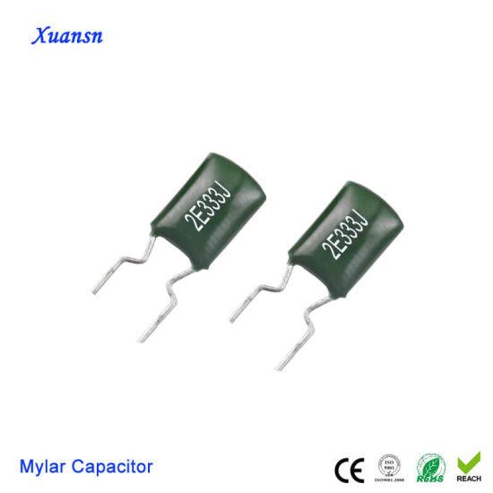 Lámina de poliéster Condensadores de Película 2A333J 33nF//333 2A 100V #E72