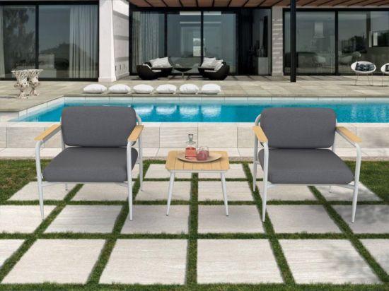Hôtel Jardin aluminium de haute qualité/Home/Café/Restaurant ensemble à  dîner Table et chaise meubles de patio extérieur canapé