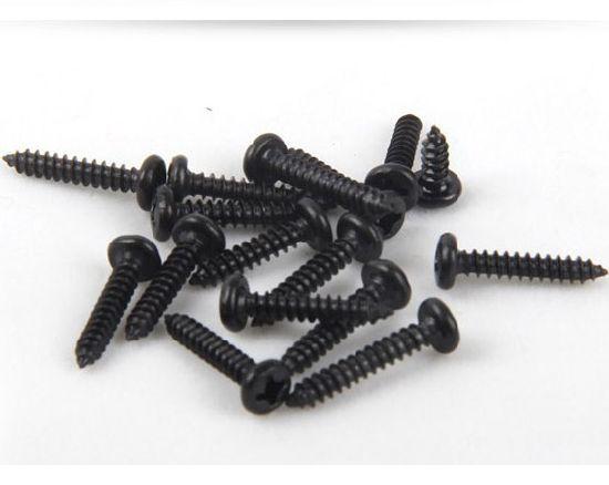 Negro M1.4 * 4mm M1.4 M1.7 M2 M2.3 Tornillos Phillips Cabeza Avellanada Tornillos Acero Carbono Micro Tornillos 1000piezas//500piezas 1000 piezas XFentech Tornillo Autorroscante
