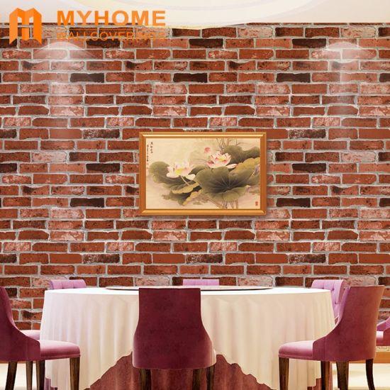 Chine Guangzhou Cheap Pierre Brique Decoration Maison 3d De