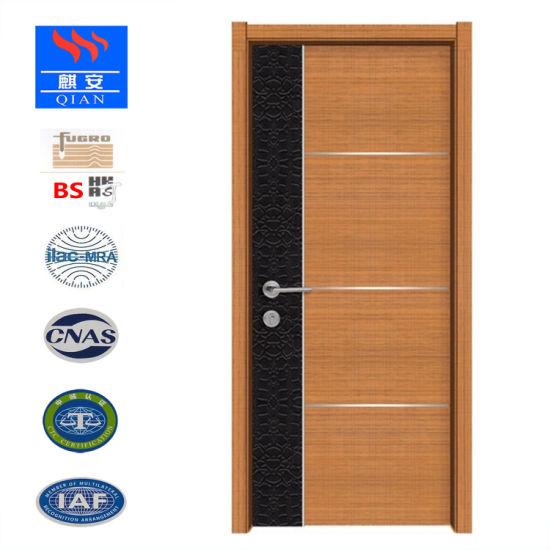 Porte en bois moderne, l\'intérieur porte en bois pour la chambre