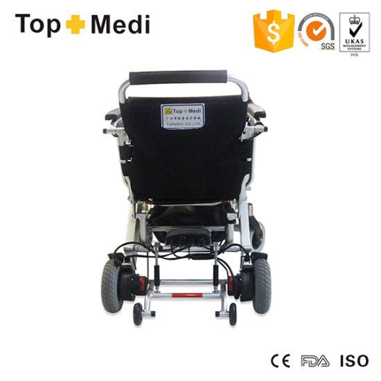 China Topmedi plegable de aluminio ultra ligero silla de