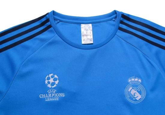 2016 tute da calcio campione europeo divisa Real Madrid Training