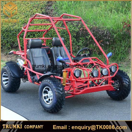 150cc off road Go Kart com 2 lugares dune buggy