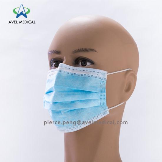 masque nez bouche jetable