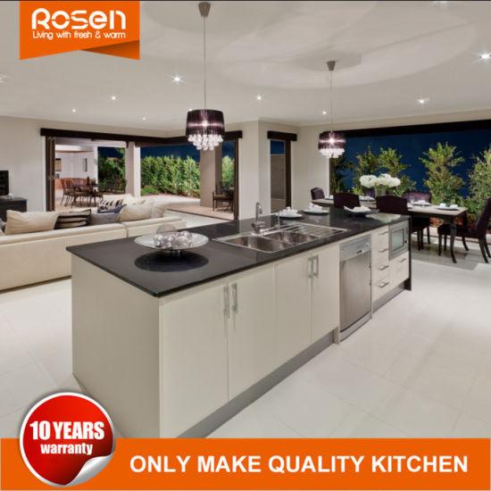 Personalizar un estilo moderno de color marrón de acero inoxidable Muebles  Armarios de cocina