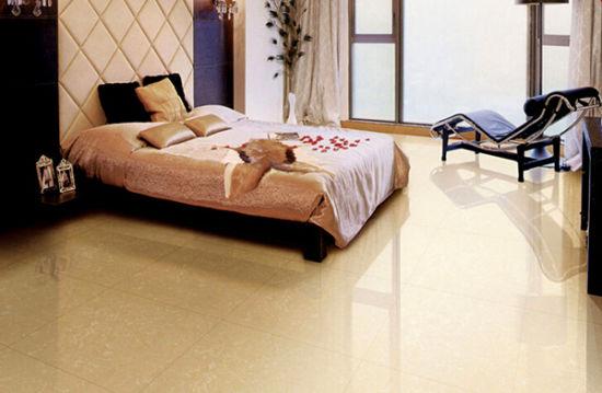 Mattonelle gialle della porcellana per il pavimento della cucina della  stanza da bagno (FJ6003)