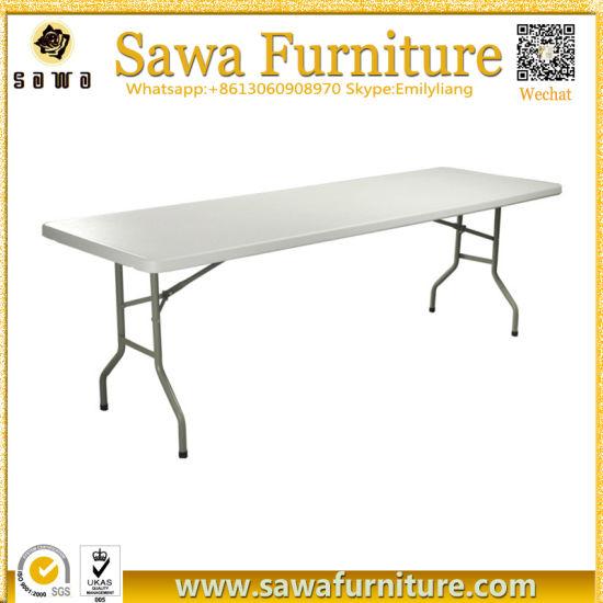 Alta calidad y de HDPE de plástico barato mesas y sillas plegables en venta