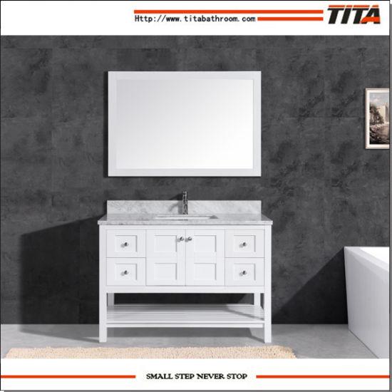 Chine Haut de marbre Salle de bains moderne vanité t9303-60W ...