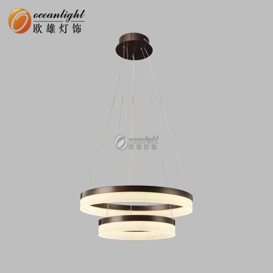 interior Aluminio luz moderno círculo China de 2019 del 5q3cRSjAL4