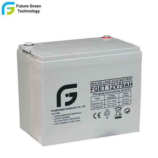 Chine Batterie solaire 12V 70Ah batterie pour l'énergie