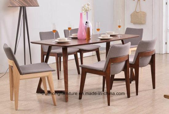 Modernos muebles de madera casa de madera Muebles de Comedor Mesa, sillas  Woodden