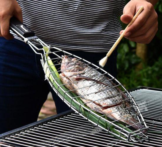 Chine Barbecue Grill paniers avec de la qualité du poisson