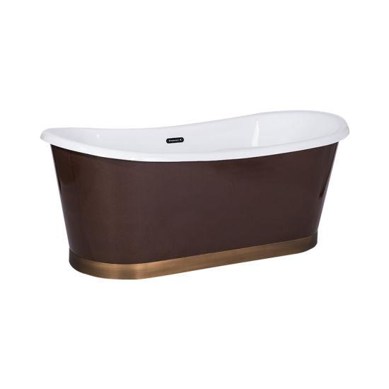 Cina Vasca Da Bagno Color Rame Wtm 02527 Acquistare Vasche Da Bagno Autoportanti Sopra It Made In China Com