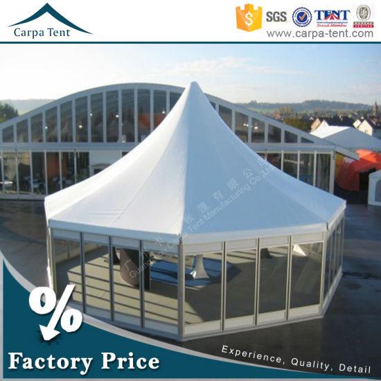 China Muur 8m van het glas de Diameter multi Opgeruimde Tent