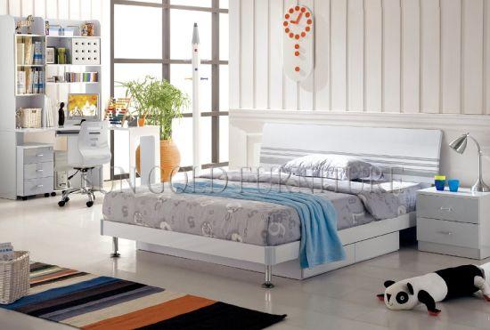 Chine Ensemble De Chambre A Coucher Blanc Lumineux Elegant De