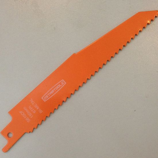 Hoja de sierra de sable S922EF 5 piezas, 18 TPI, 150 mm, metal