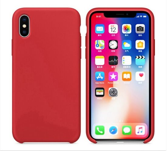 Silicone Cover Supplier for iPhone 7 8 Liquid Silicone Case 10 Colors Avaible