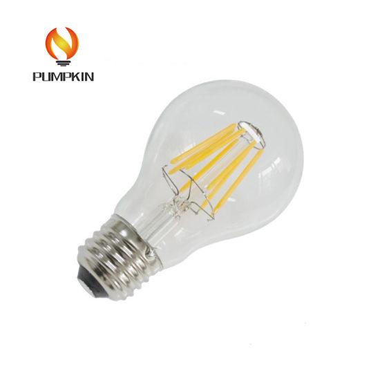 Luz de filamento E27 vidrio China 6W LED B22 LED Lámpara de yOwn8vNm0