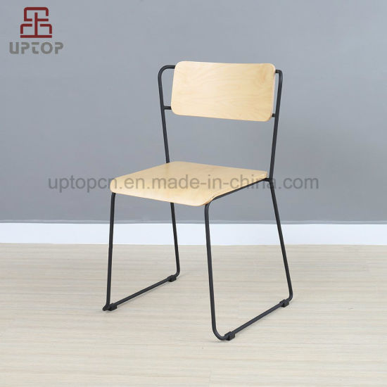 China Restaurante de estilo vintage de metal usa silla de ...