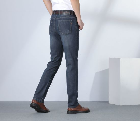 China Epusen 2020 Pantalones De Moda Casual Personalizada Comodos Pantalones De Mezclilla Para Hombres De Negocios Comprar Las Prendas De Vestir En Es Made In China Com
