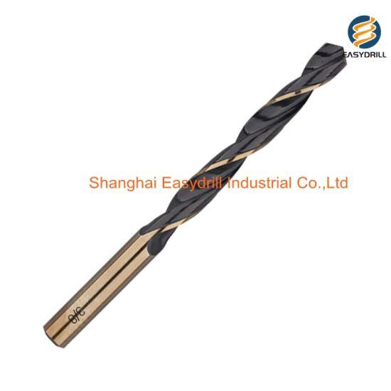 Broca espiral de acero r/ápido mango corto, DIN 338, para metal pulido
