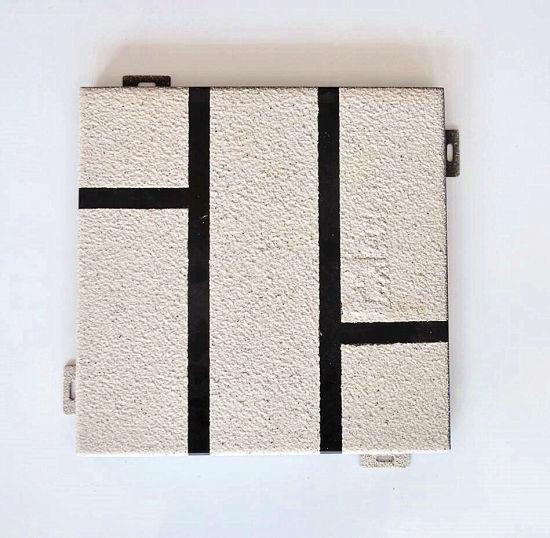 China Chapa De Aluminio Paneles De Piedra De La Decoración