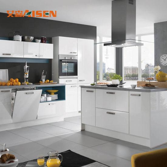 Le cucine tedesche dirigono l\'armadio da cucina moderno di prezzi economici