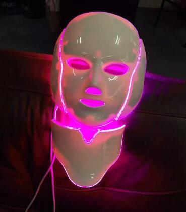 masque facial led