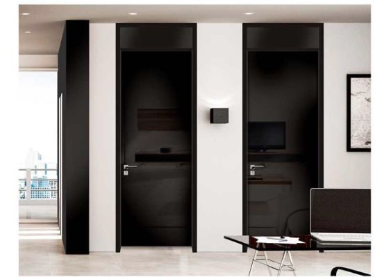 Modèles de portes pour salle de bains design moderne des portes de bois