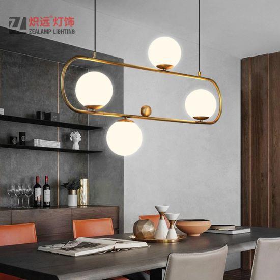 China Moderno y minimalista colgante lámpara de araña de ...