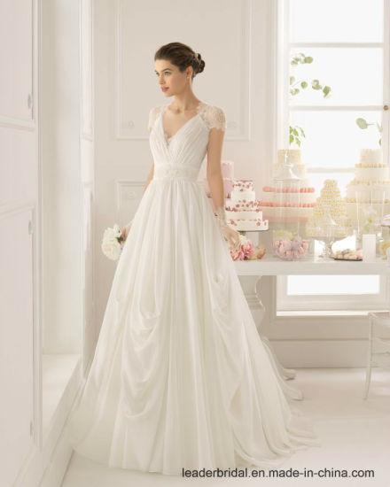 Chine Le chapeau gaine la robe de mariage