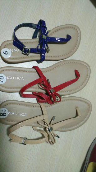 China Las mujeres, Señoras sandalias sandalias planas, la