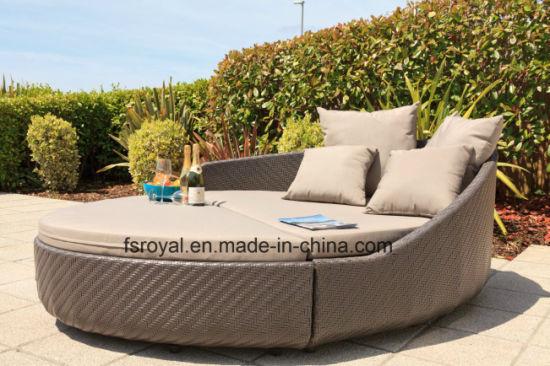 Hôtel moderne de lit de repos de mobilier de jardin Chaise longue plage  transats