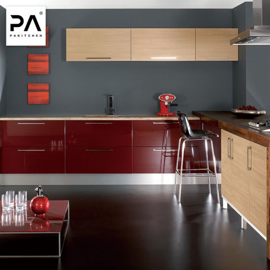 Muebles de hogar Cocina Modular armario armario personalizado listo para  armar