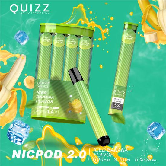 одноразовая электронная сигарета quizz
