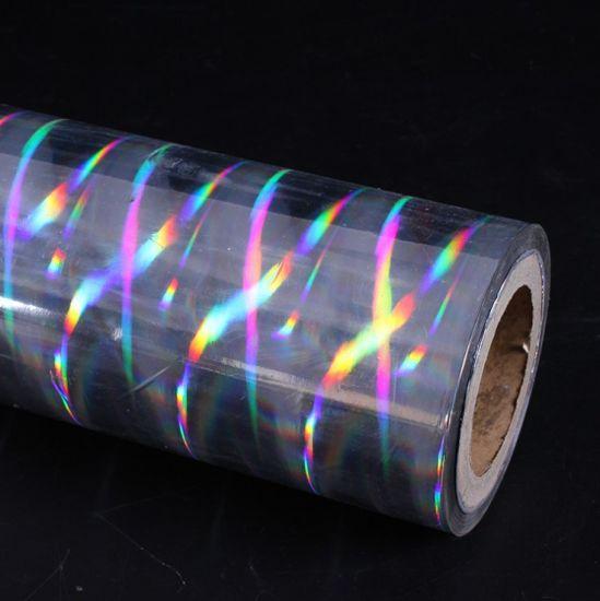 Bobbel arco iris metalizado