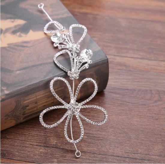 La mode Crystal Belle Fleur de Coiffure de Bijoux Bijoux en épingle à cheveux