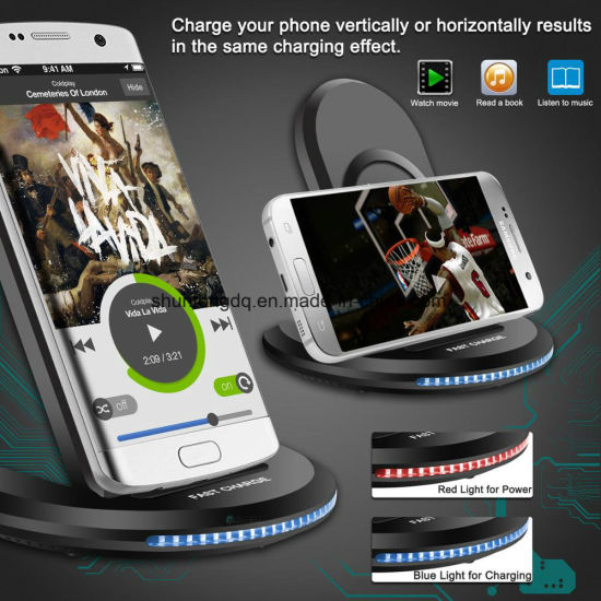 China 5V 2A 9V para Samsung para el iPhone carga rápida de