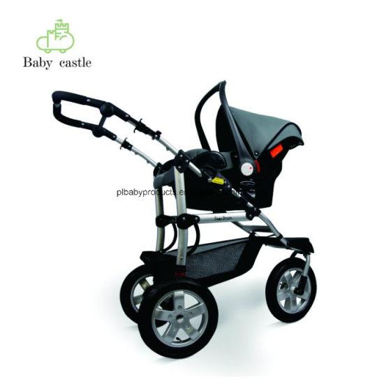 China Bueno Baby Hot Mom 3 en 1 Cochecito de bebé con Ce