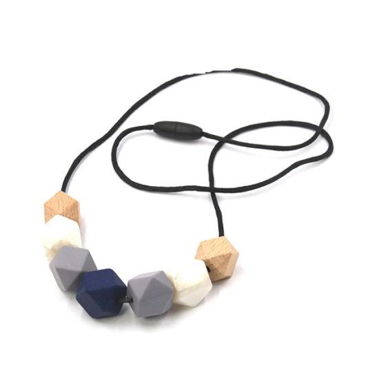 collier perle silicone