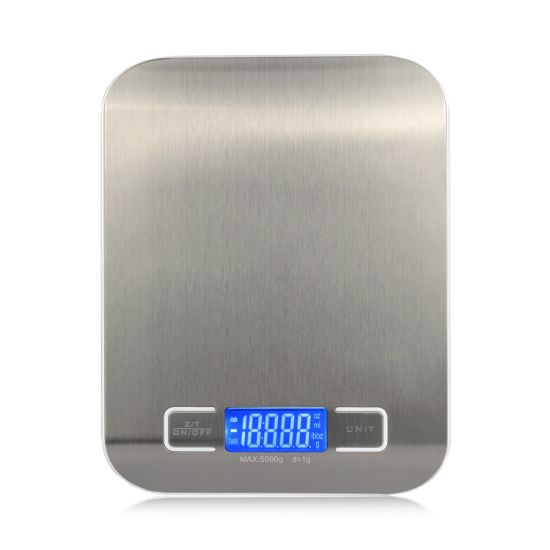 Écran LCD Cuisine échelle numérique Poids Outils Pour Pesage 5KG//1g Kitchen Scale