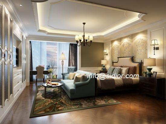 Chine Hôtel de luxe moderne cl8008 Chambre à coucher ...