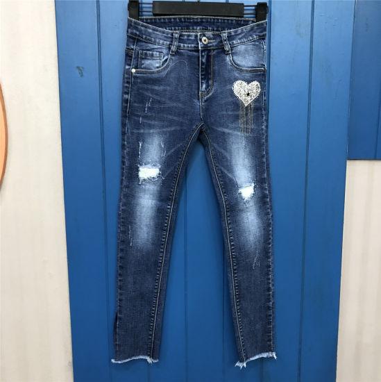 China Jeans De Moda Para Ninas O Ninos Comprar Jeans En Es Made In China Com