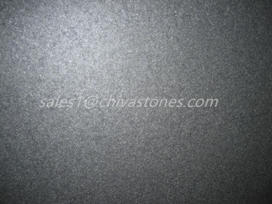 Chiva Nero Granito Nero Assoluto Lucidato Fiammeggiato Smerigliatrice La Lastra Del Granito Per Le Mattonelle Di Pavimentazione Le Mattonelle Scale Di
